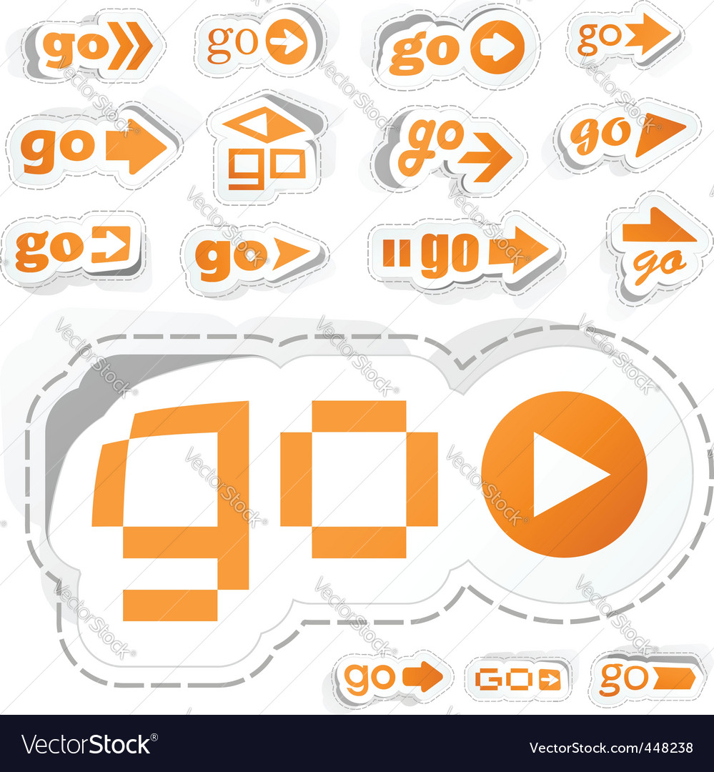 Go vector | Price: 1 Credit (USD $1)
