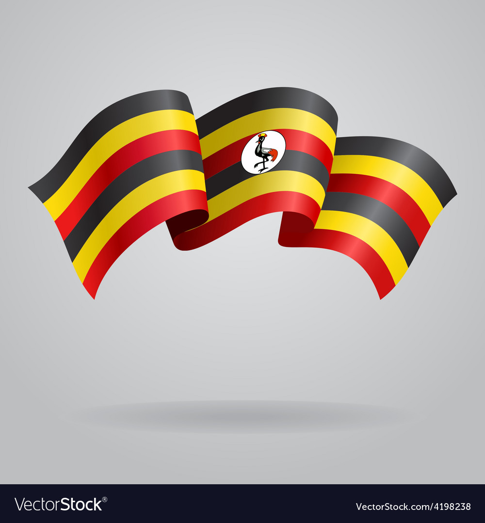Ugandan waving flag vector   Price: 1 Credit (USD $1)