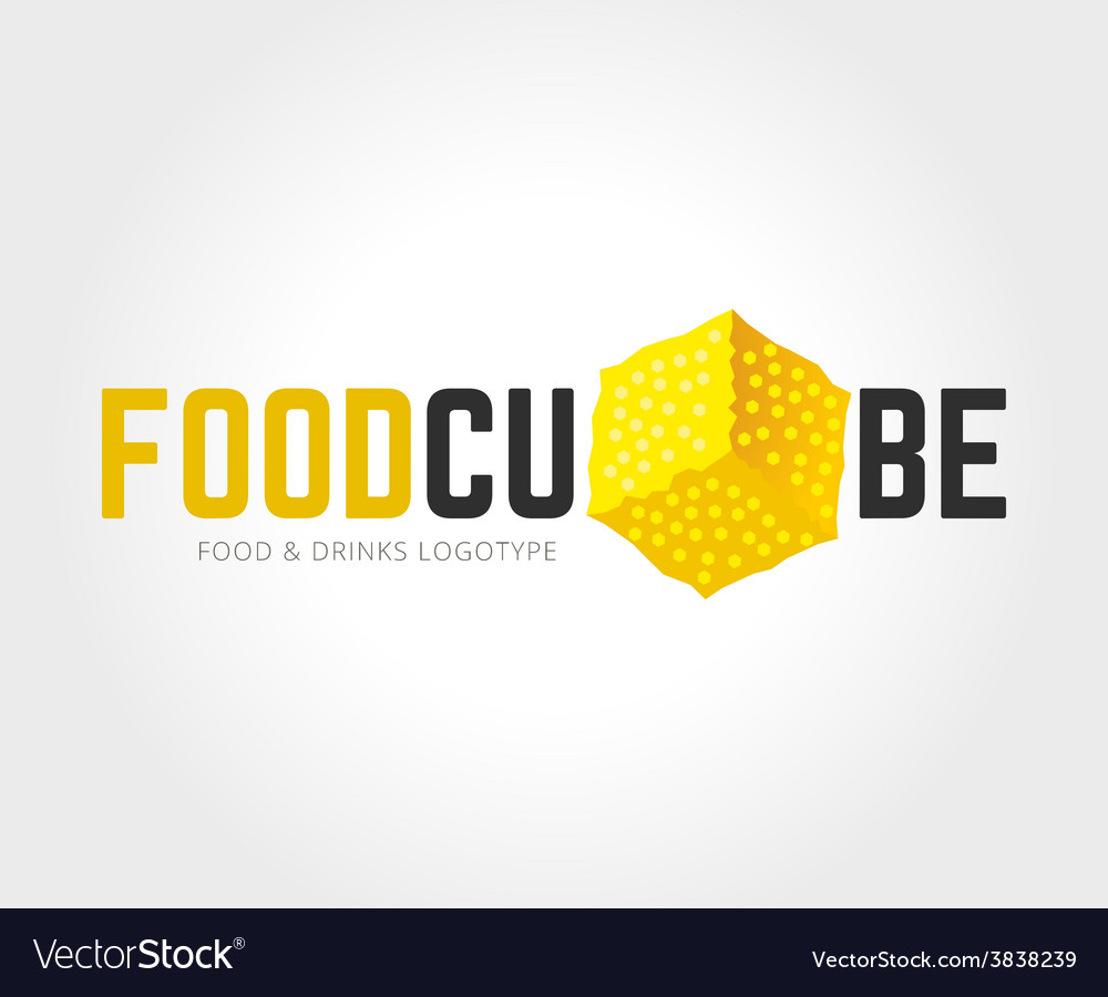 Abstract food logo template for branding vector   Price: 1 Credit (USD $1)