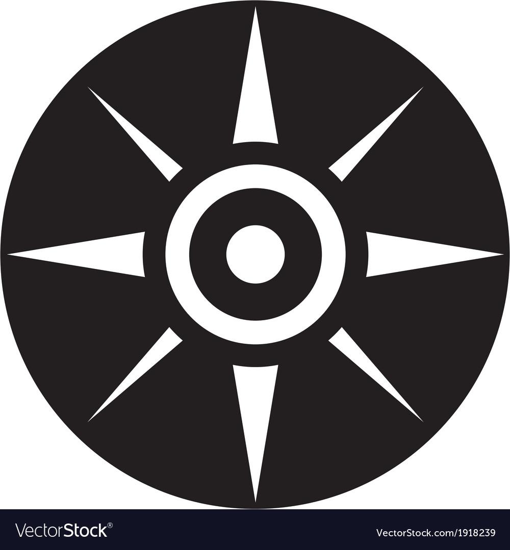 Compass icon vector   Price: 1 Credit (USD $1)