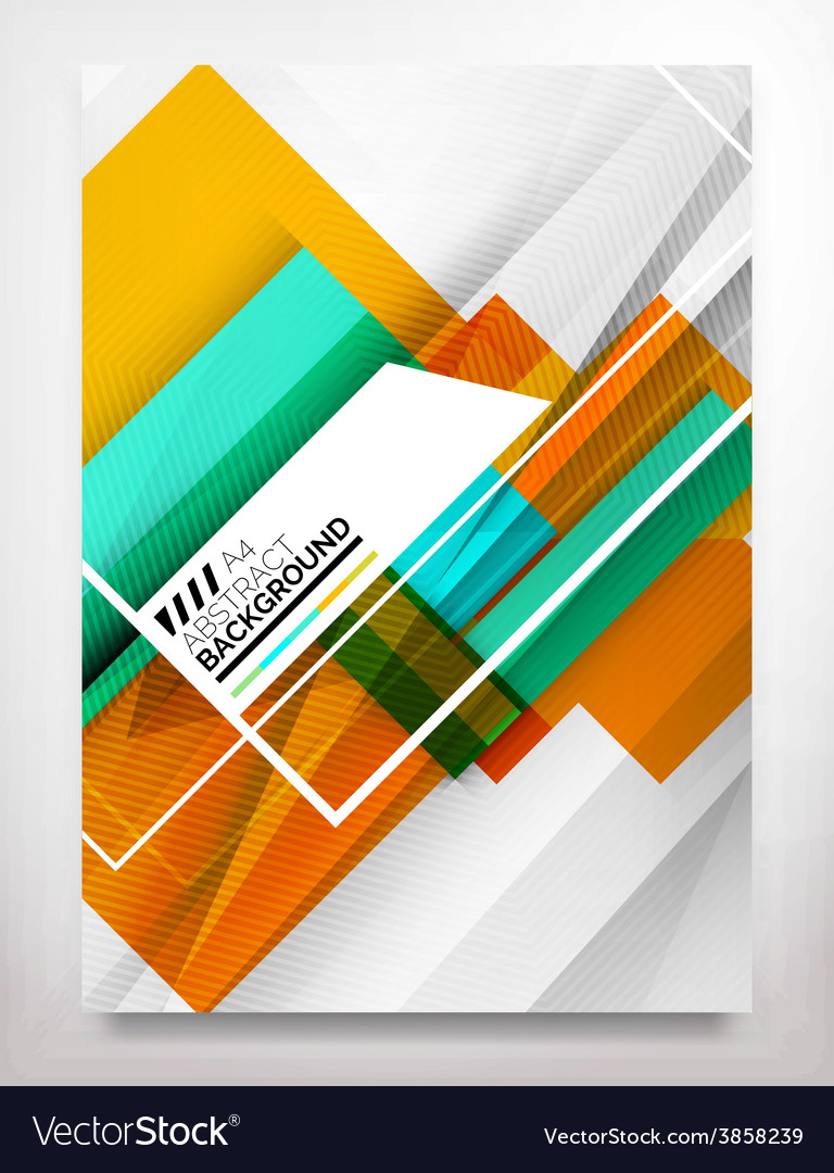 Flyer brochure design template vector | Price: 1 Credit (USD $1)