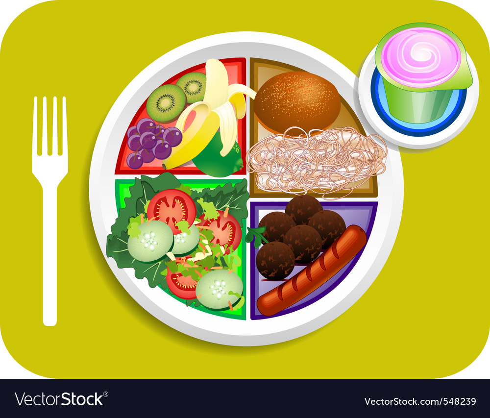 Lunch items vector | Price: 3 Credit (USD $3)