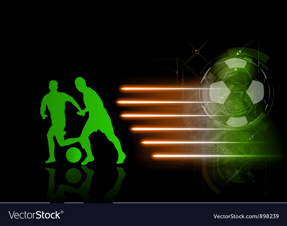 Soccer modern background green vector | Price: 1 Credit (USD $1)