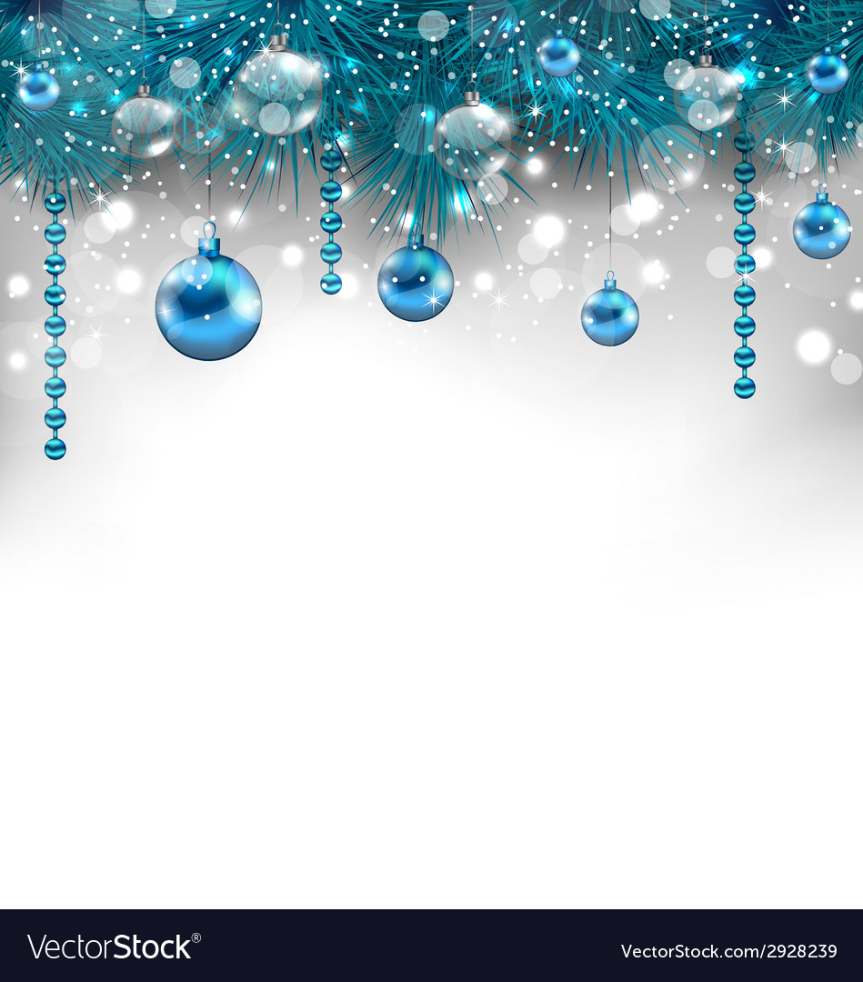 Traditional glowing background with christmas vector   Price: 1 Credit (USD $1)