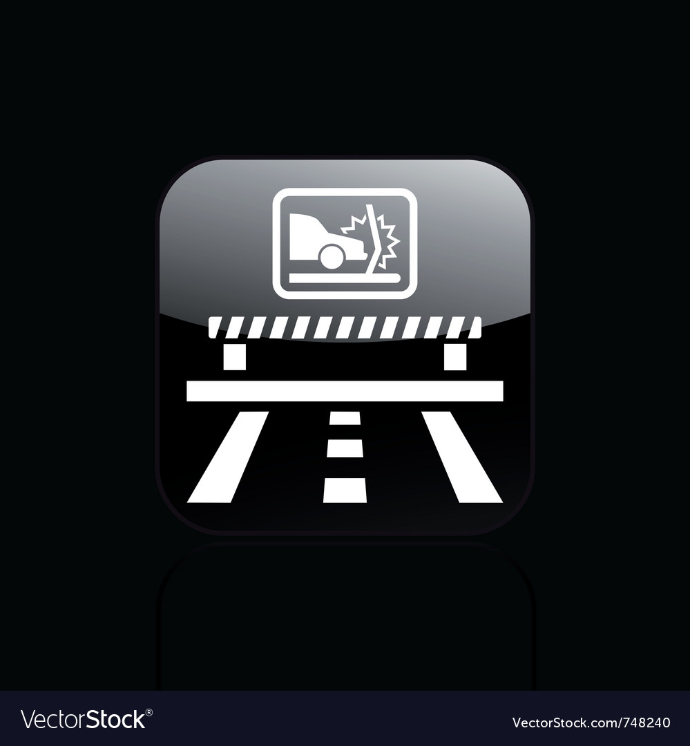 Crash car icon vector | Price: 1 Credit (USD $1)