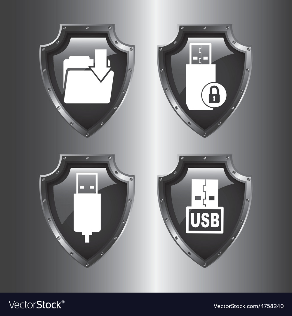 Data center icons vector | Price: 1 Credit (USD $1)