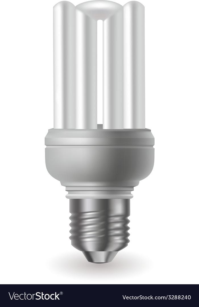 Energy saving bulb vector | Price: 1 Credit (USD $1)