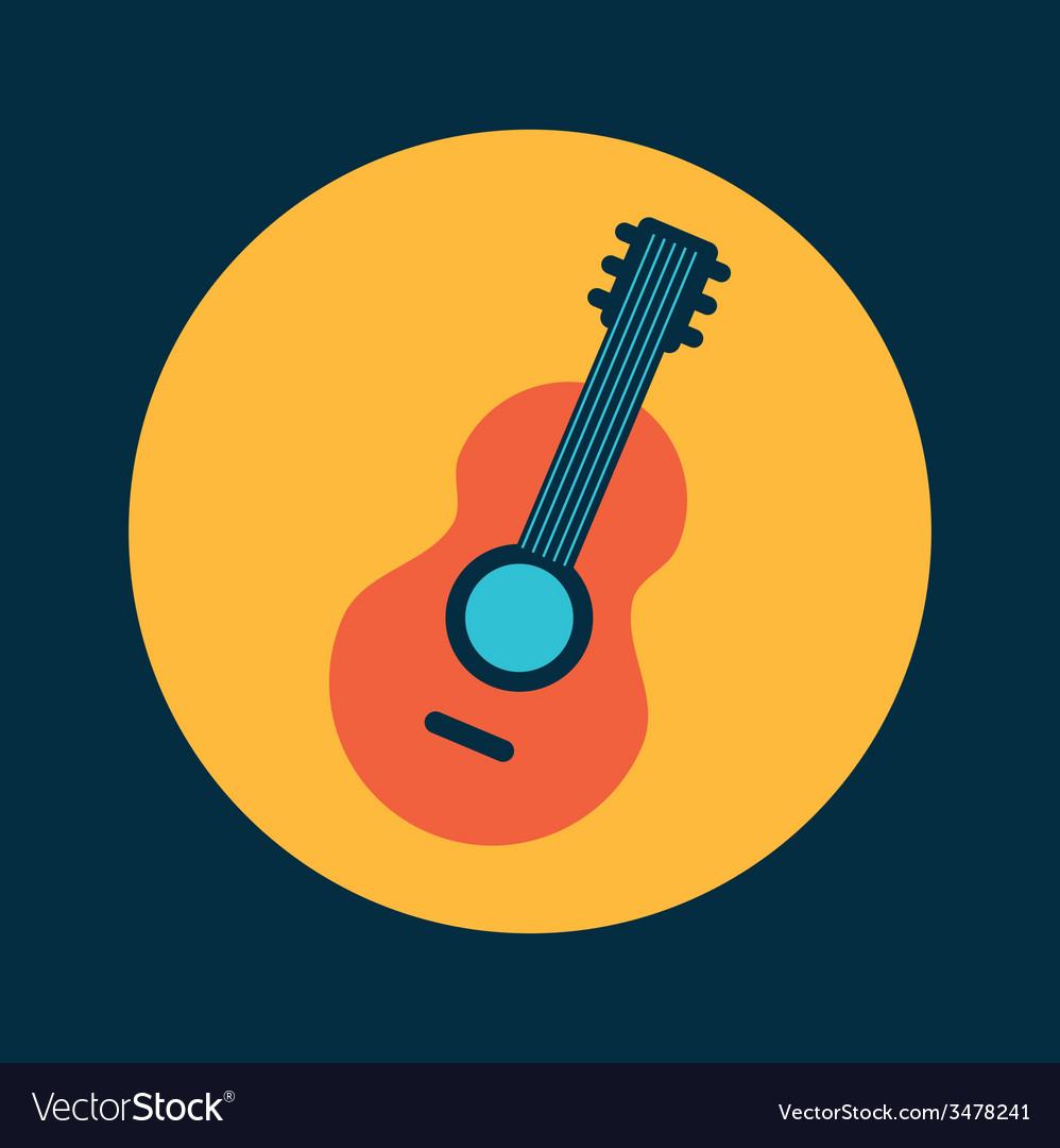 Guitar design vector | Price: 1 Credit (USD $1)