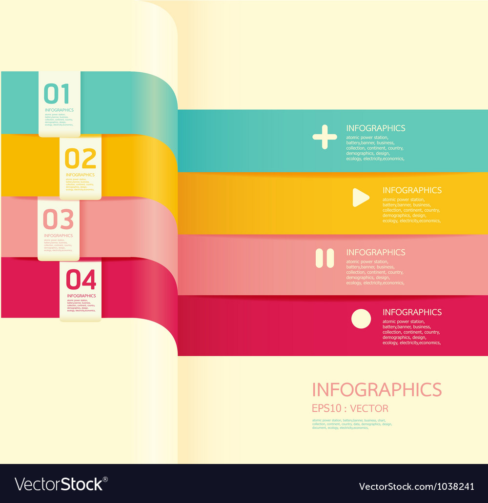 Modern soft color design banner vector | Price: 1 Credit (USD $1)