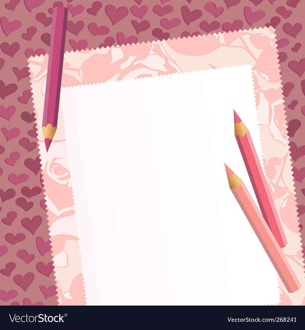 Tag on the romantic background vector | Price: 1 Credit (USD $1)