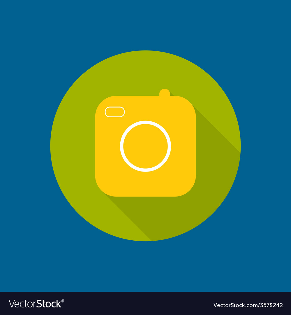 Icon of the old camera vector | Price: 1 Credit (USD $1)