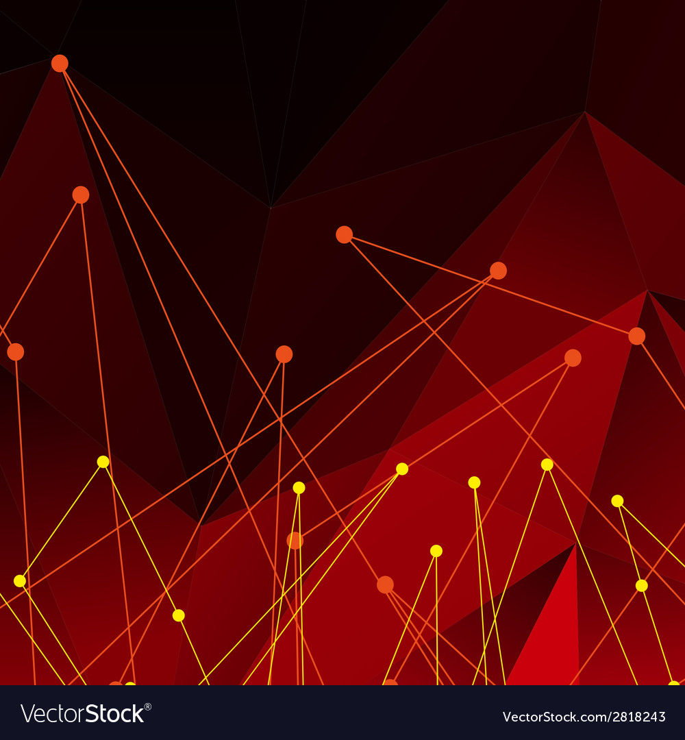 Background with red polygonal abstract shapes vector   Price: 1 Credit (USD $1)