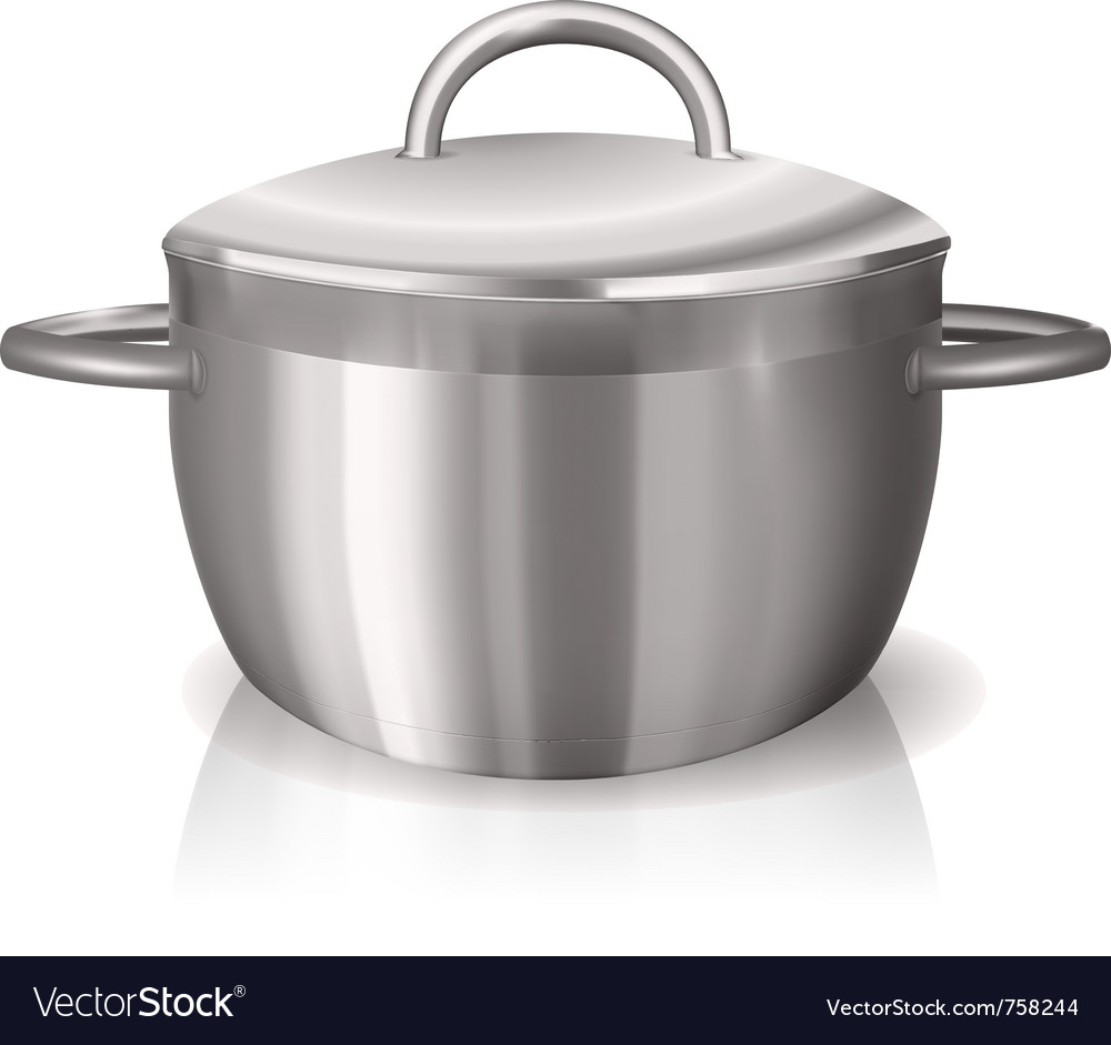 Metal pan vector | Price: 1 Credit (USD $1)