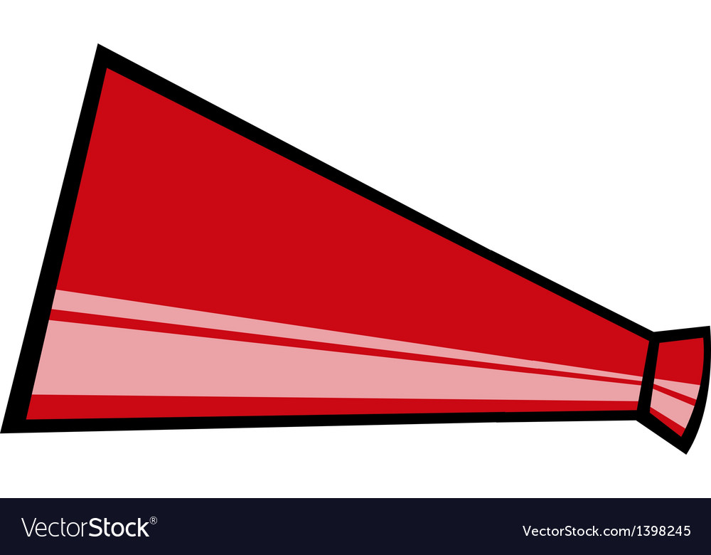 A loudspeaker is placed vector