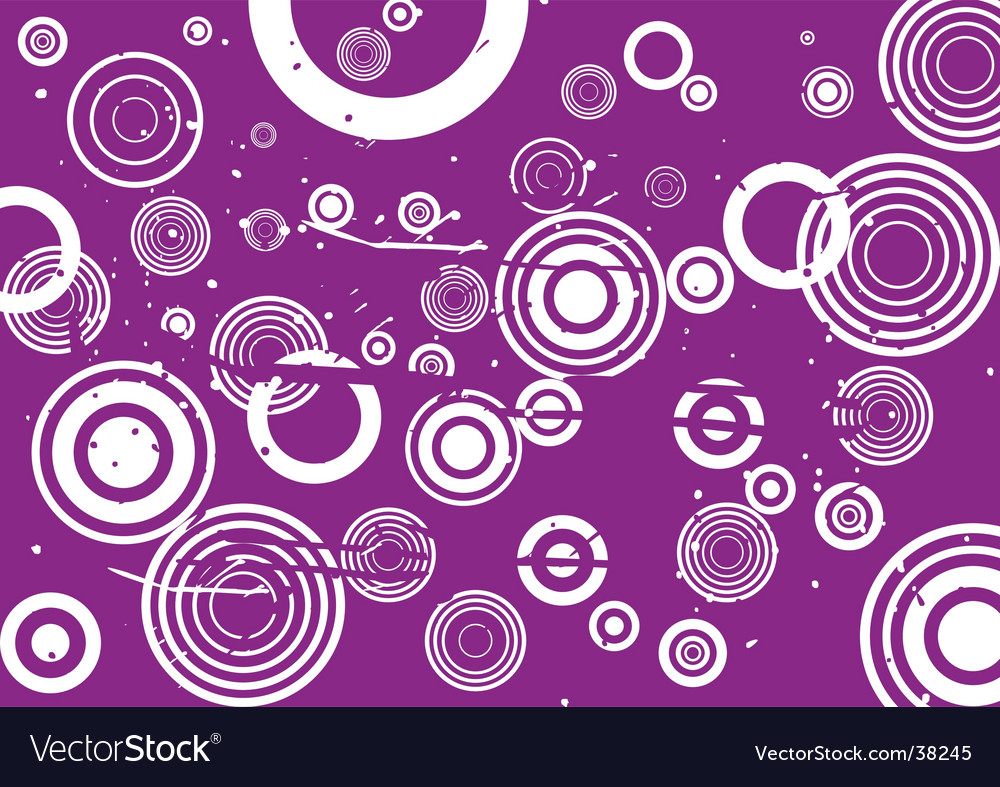 Grunge circle violet background vector | Price: 1 Credit (USD $1)