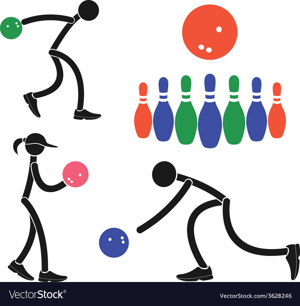 Bowling vector   Price: 1 Credit (USD $1)