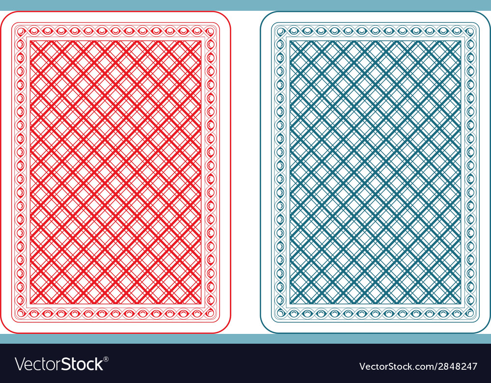 Playing cards back epsilon vector | Price: 1 Credit (USD $1)