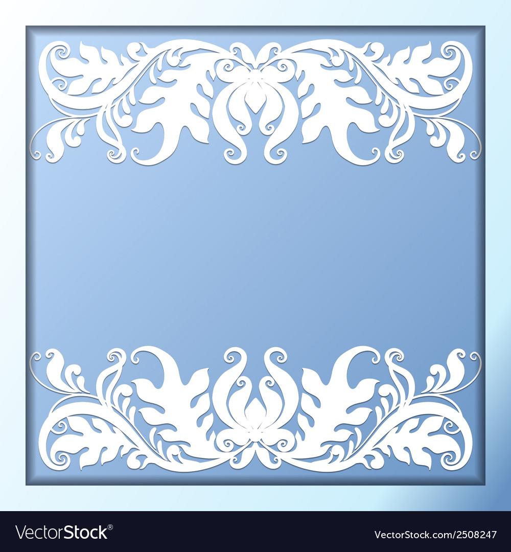 Vintage paper borders vector | Price: 1 Credit (USD $1)