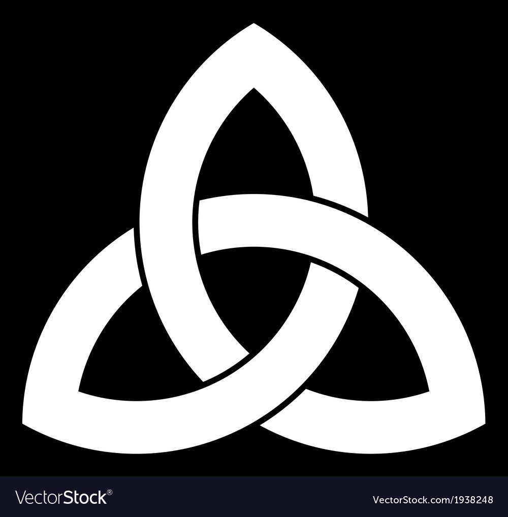 Celtic triquetra knot vector | Price: 1 Credit (USD $1)