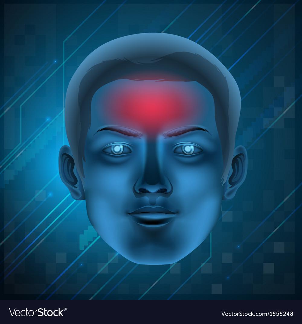 Headache concept vector | Price: 1 Credit (USD $1)