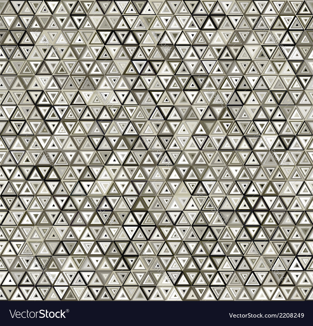 Abstract triangular seamless pattern vector | Price: 1 Credit (USD $1)