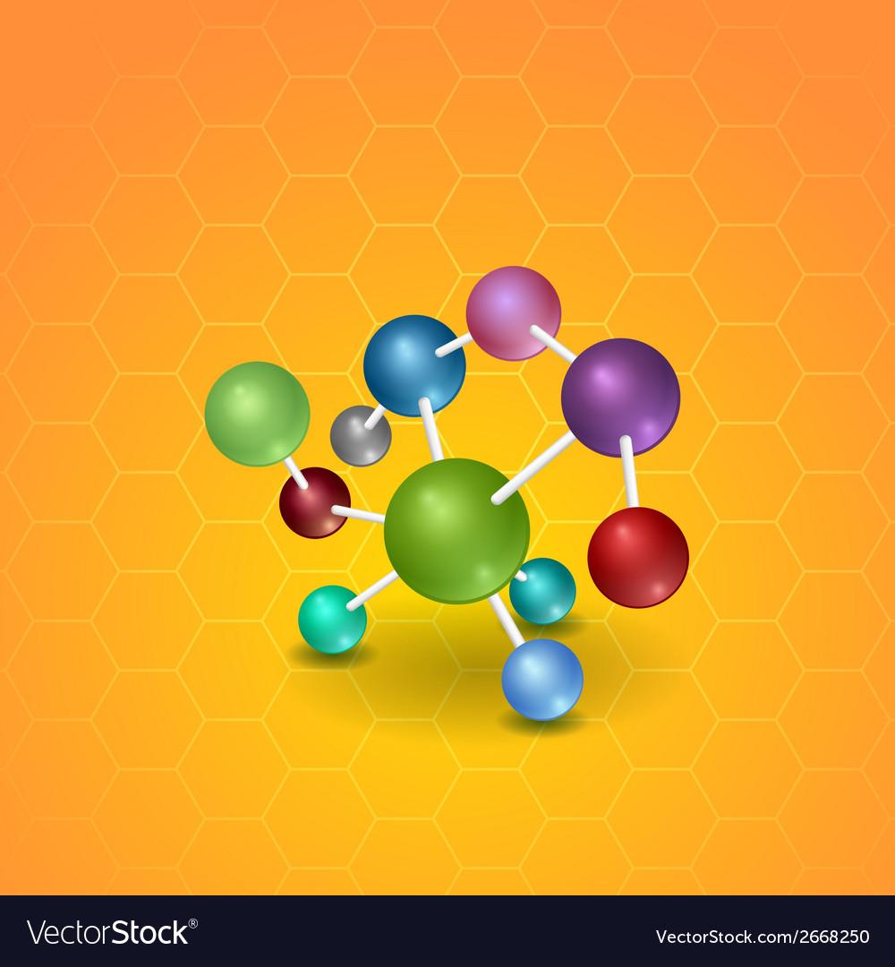 Molecule vector | Price: 1 Credit (USD $1)