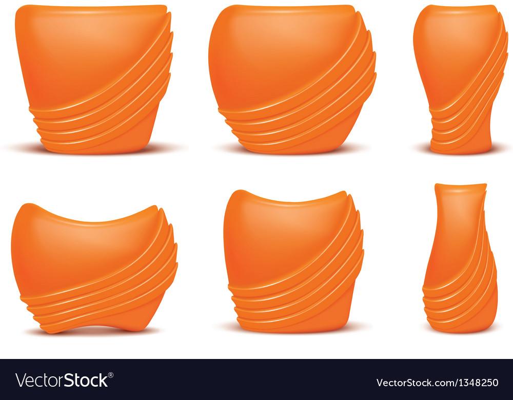 Vases vector | Price: 1 Credit (USD $1)