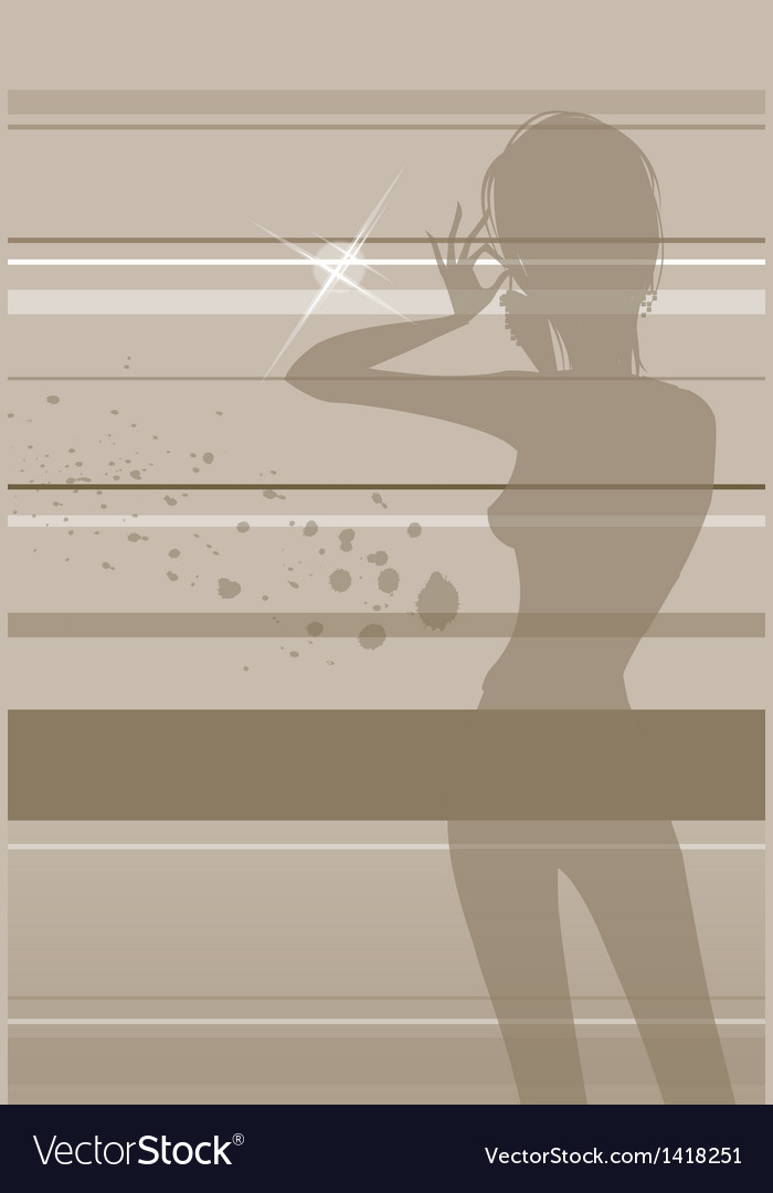 Beauty fashion background vector | Price: 1 Credit (USD $1)