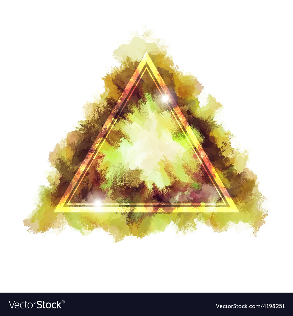 Triangular sign vector | Price: 1 Credit (USD $1)