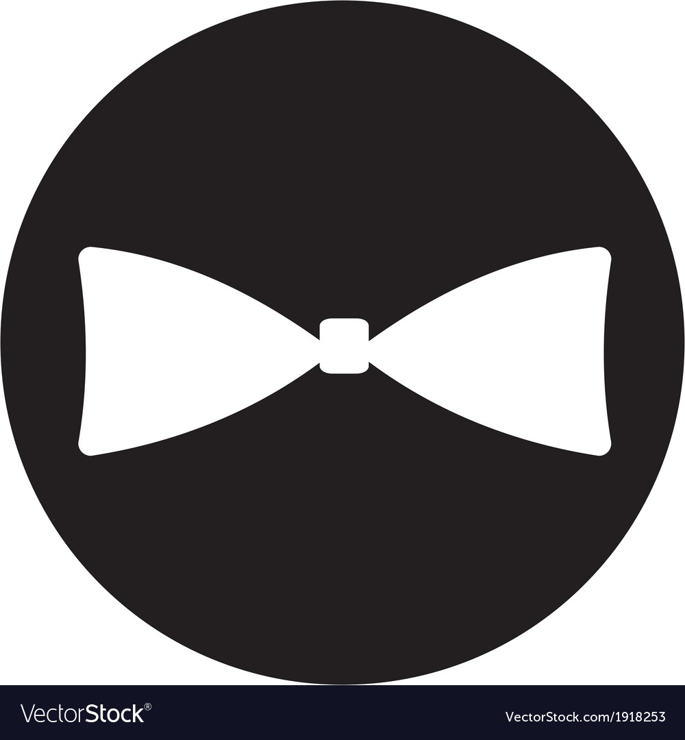 Bow tie icon vector | Price: 1 Credit (USD $1)