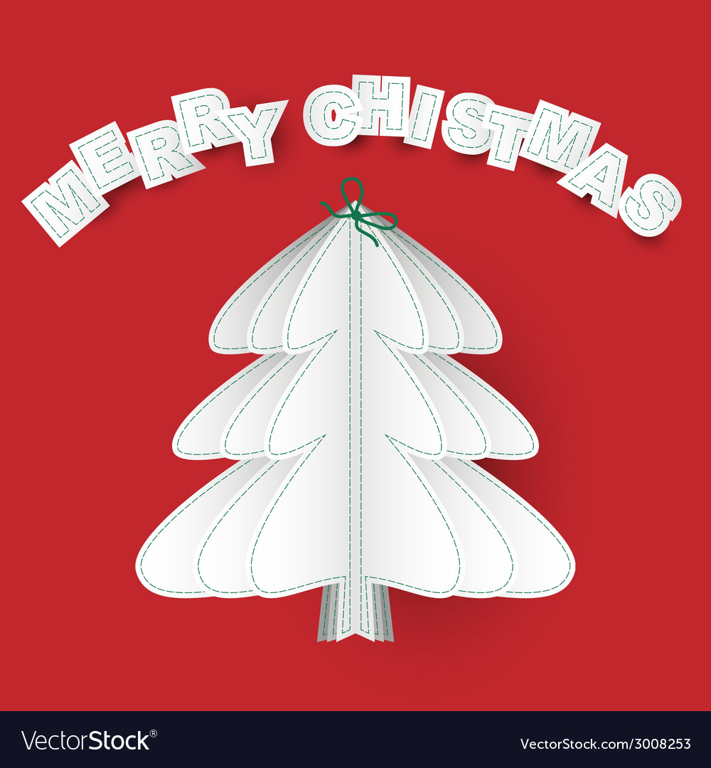 Sewn merry christmas vector   Price: 1 Credit (USD $1)