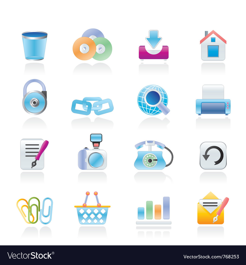 Website and internet icons vector | Price: 3 Credit (USD $3)