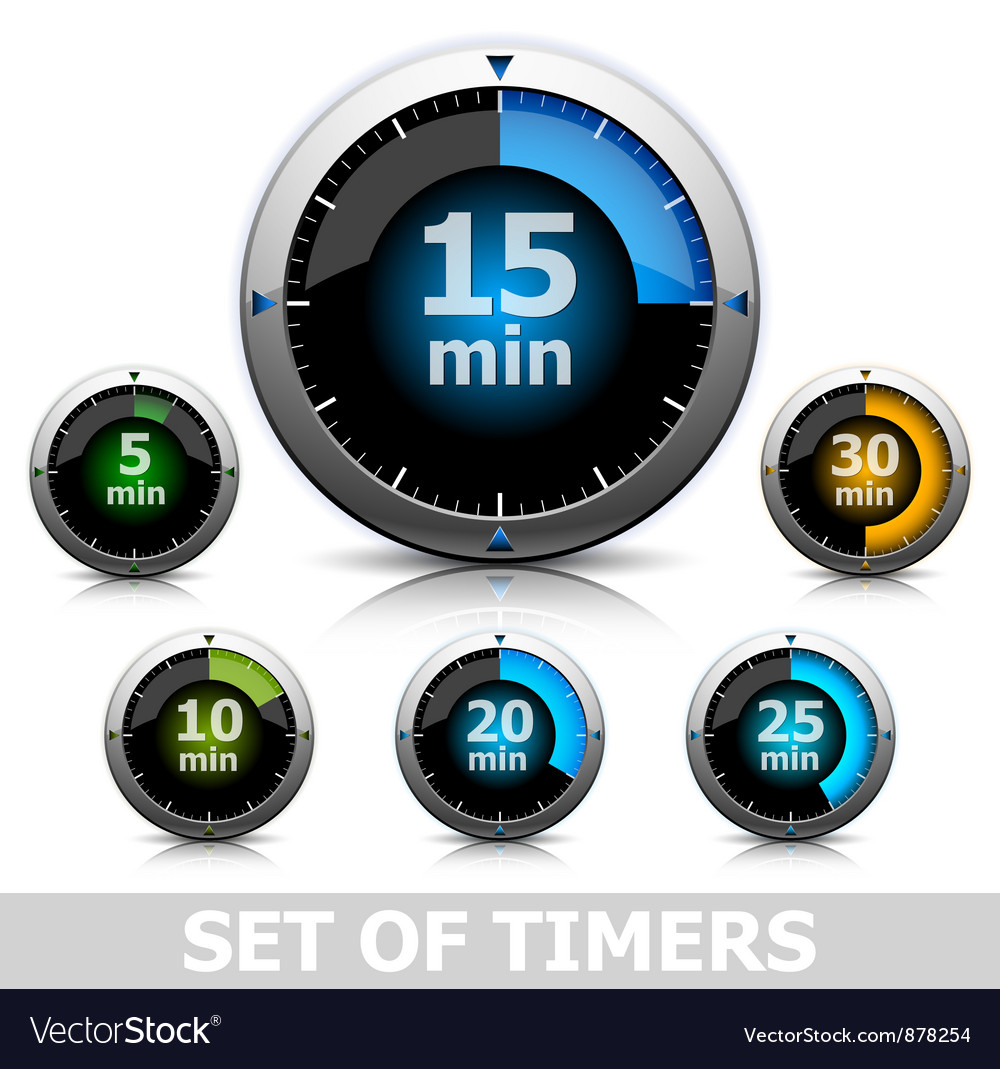 Bright timer vector | Price: 1 Credit (USD $1)