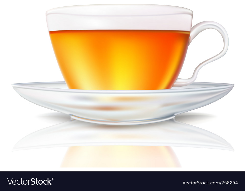 Cup of tea vector | Price: 1 Credit (USD $1)