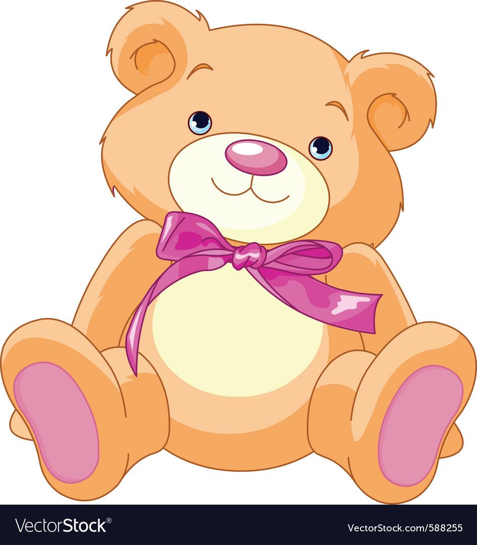 Child teddy bear vector | Price: 1 Credit (USD $1)