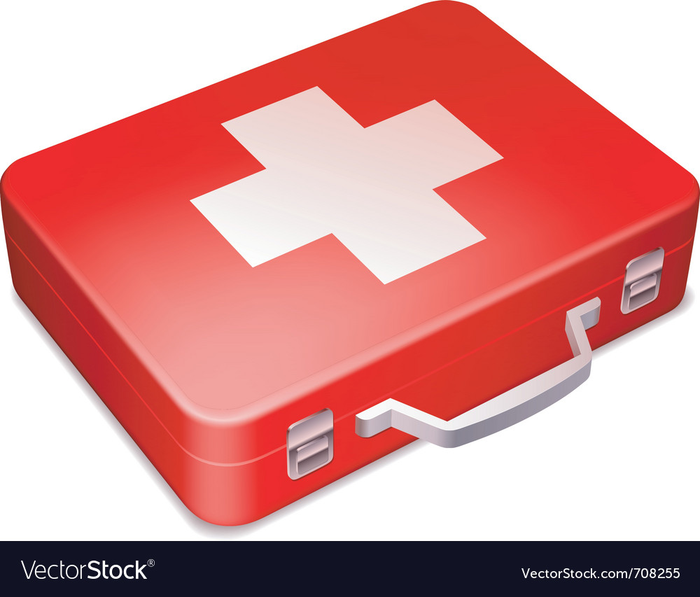 First aid kit vector | Price: 3 Credit (USD $3)