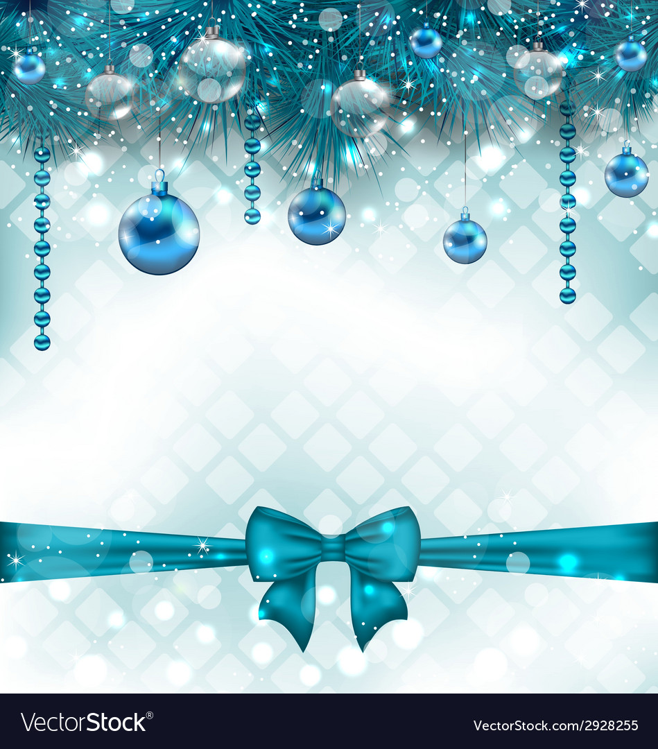 Light background with christmas traditional vector   Price: 1 Credit (USD $1)