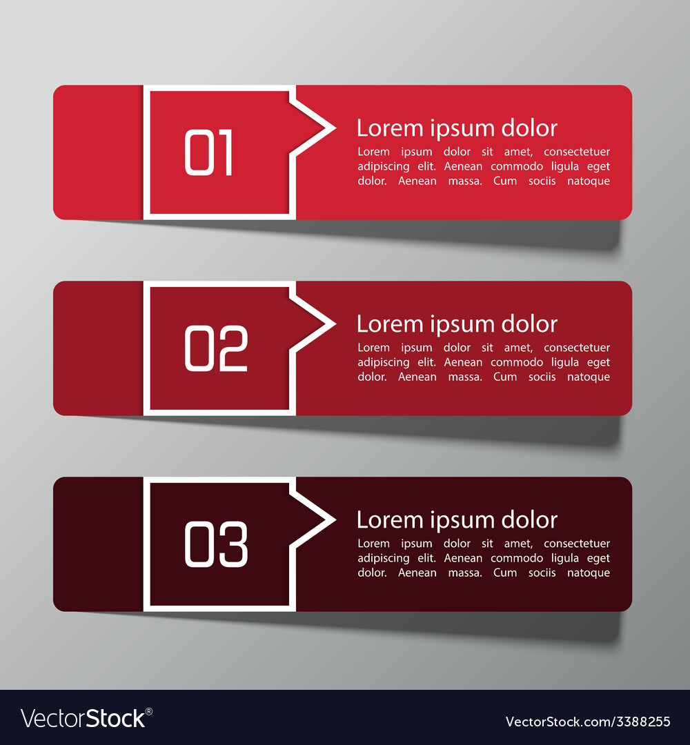 Modern design template from paper vector | Price: 1 Credit (USD $1)