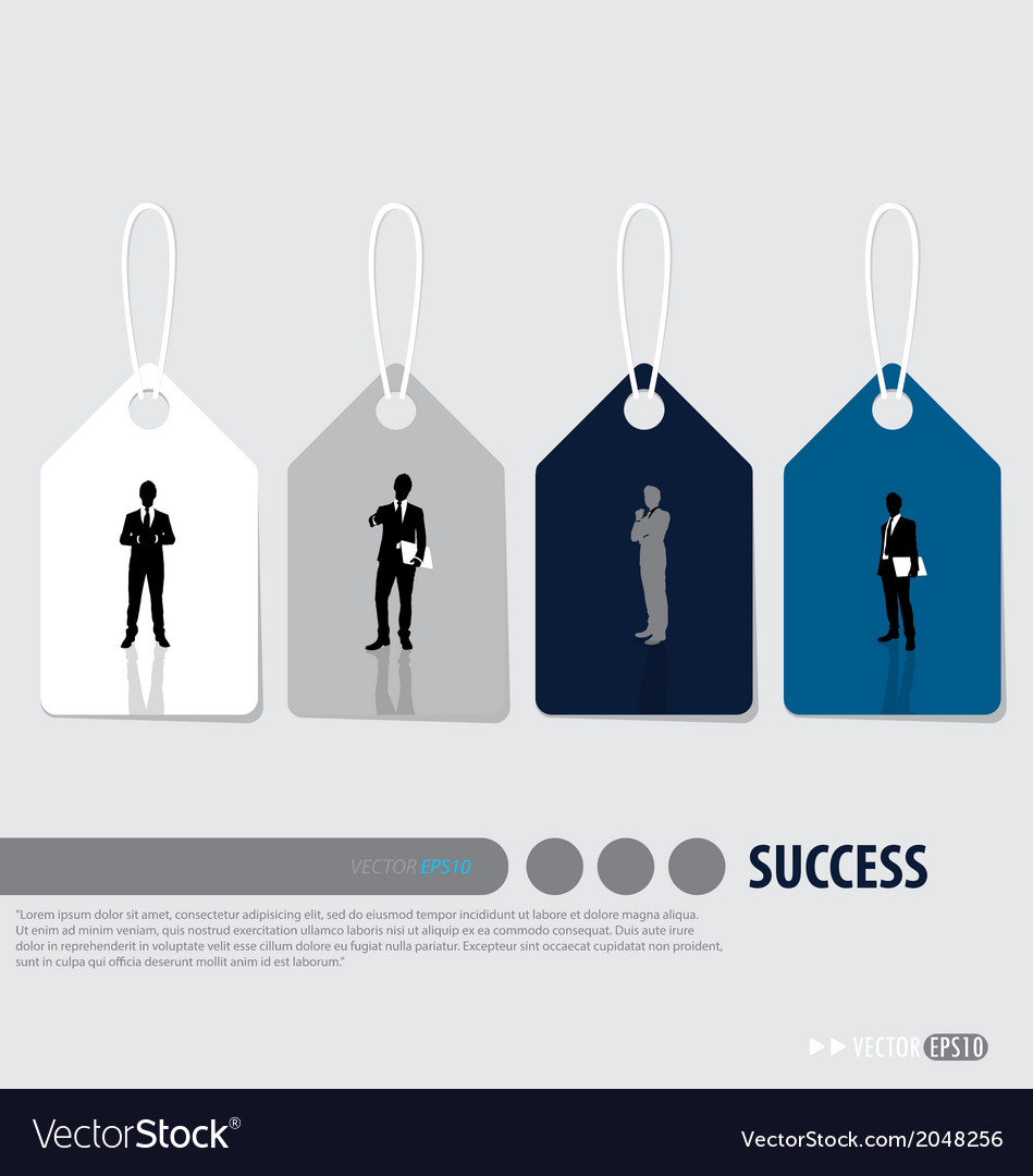 Business concept tags design vector   Price: 1 Credit (USD $1)