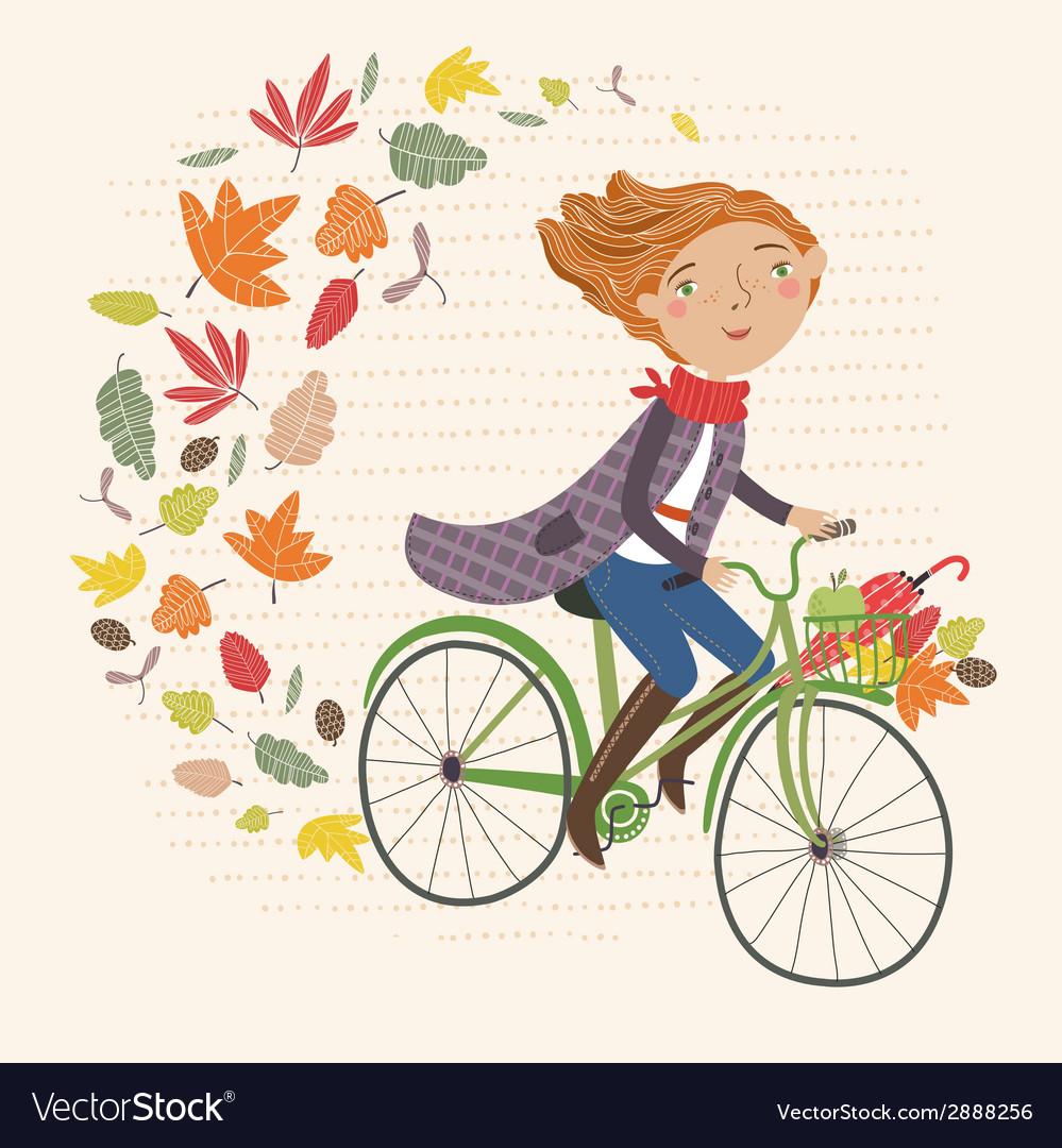 I love autumn vector | Price: 1 Credit (USD $1)