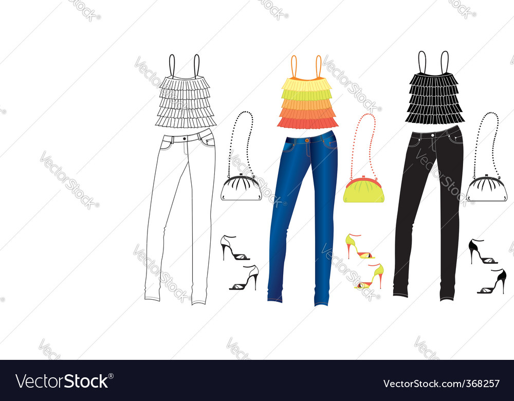 Clothes special vector | Price: 3 Credit (USD $3)