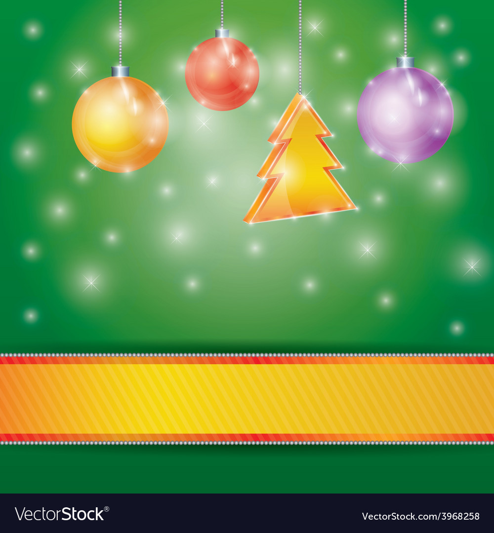 Celebration light background with ribbon christmas vector | Price: 1 Credit (USD $1)