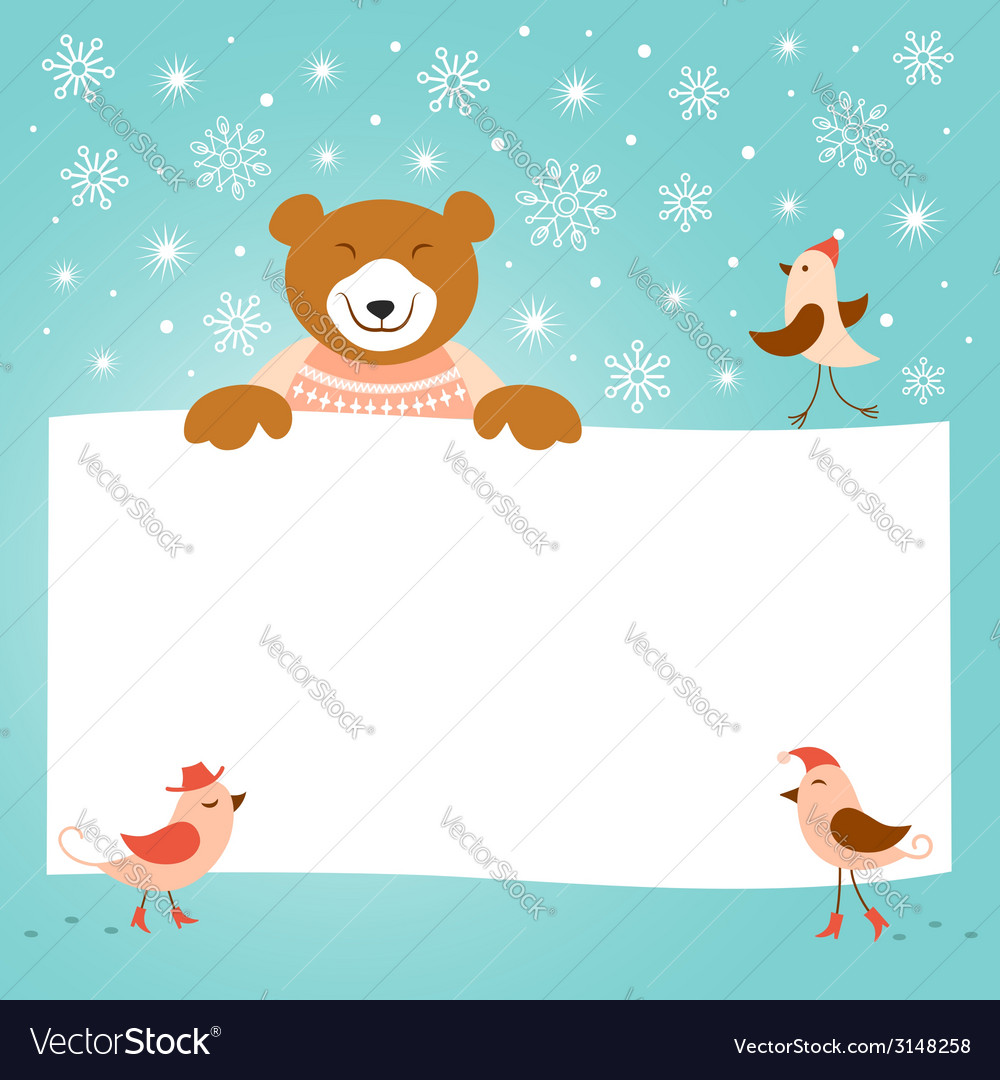 Christmas and new year greeting card vector | Price:  Credit (USD $)