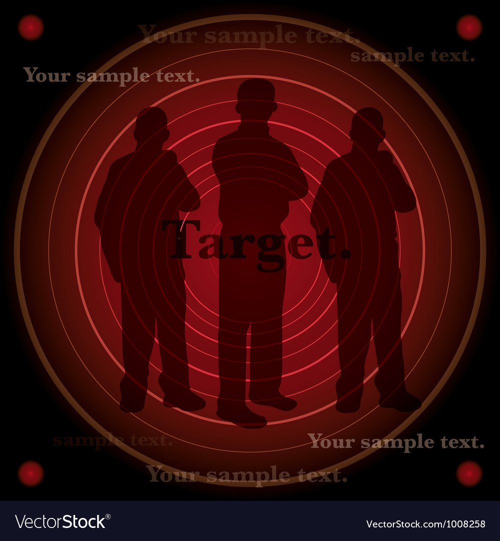 Target background vector | Price: 1 Credit (USD $1)