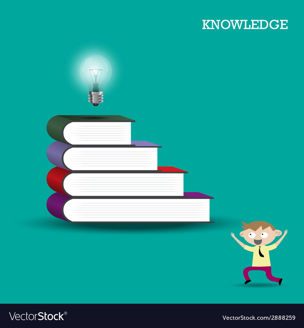 Knowledge and learning concept vector | Price: 1 Credit (USD $1)