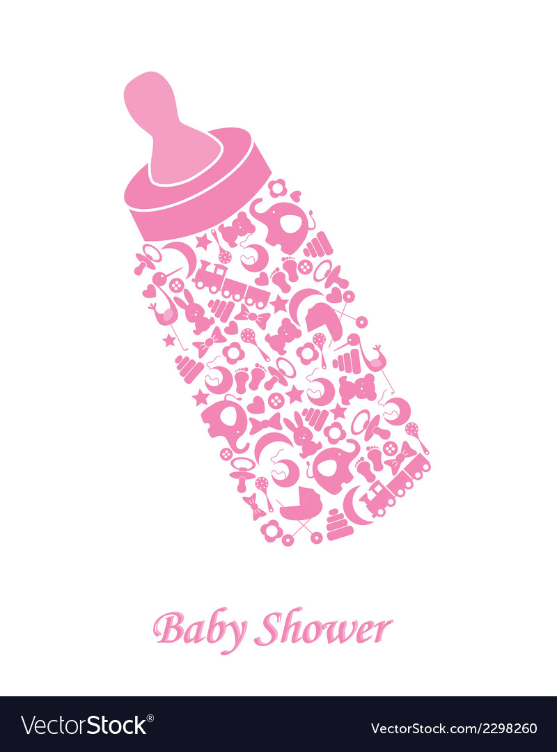 Baby bottle vector | Price: 1 Credit (USD $1)