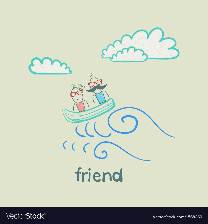 Friend vector | Price: 1 Credit (USD $1)