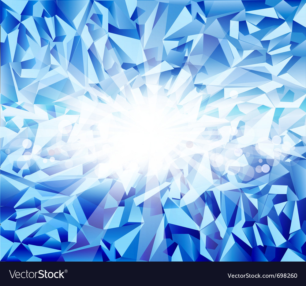 Ice blue background vector | Price: 1 Credit (USD $1)