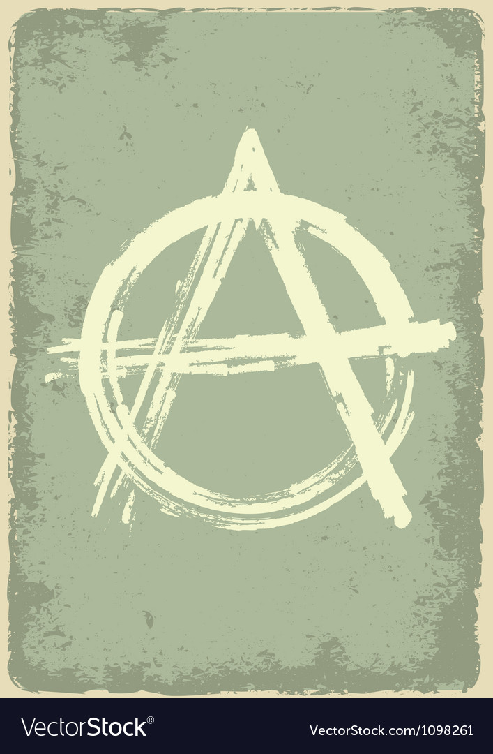 Anarchy sign vector | Price: 1 Credit (USD $1)
