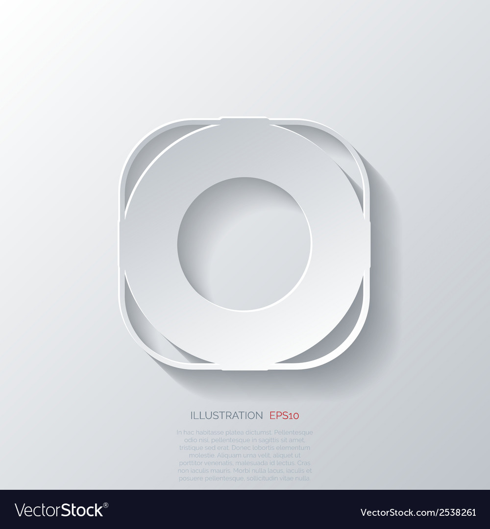 Lifebuoy web icon vector | Price: 1 Credit (USD $1)